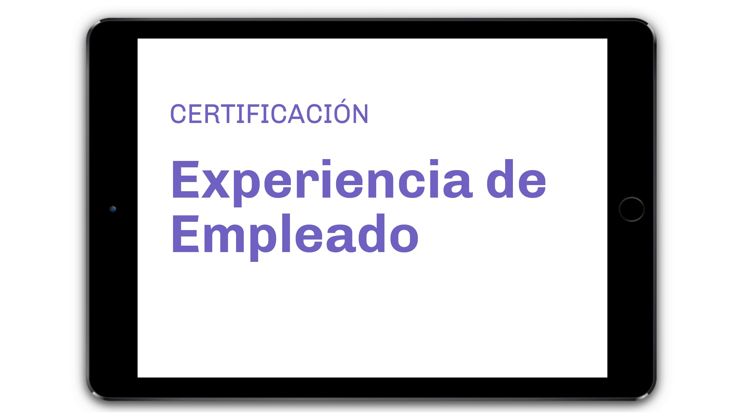 CERTIFICACION EXPERIENCIA EMPLEADO PROFESIONAL IMm Gestion del Cambio Escuela
